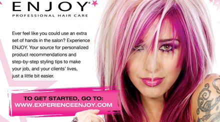 Enjoy Hair Care - Advertisements