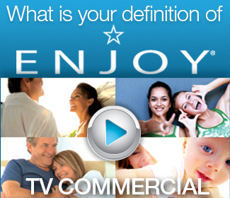 What's Your Definition of ENJOY? ENJOY Hair Care Ad